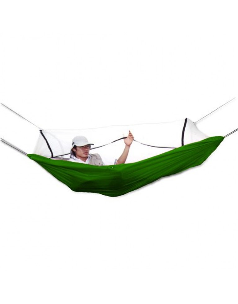 GRAND ZEBRA Cocoon Hammock With Net