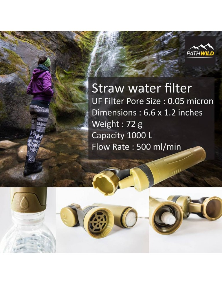 Outdoor Filter Straw