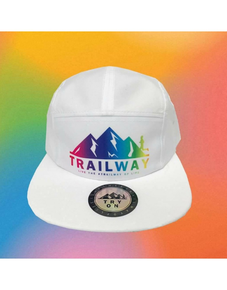 Running Cap #TrailwayFuture - White