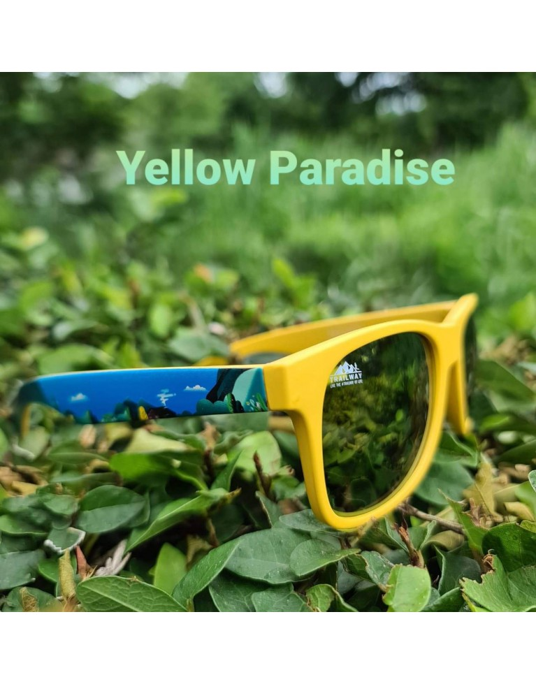 Sunglasses Yellow Paradise