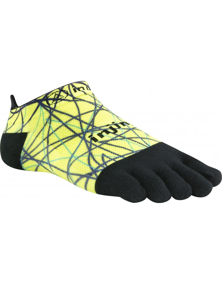 Injinji Run Lightweight No-Show Spectrum COOLMAX